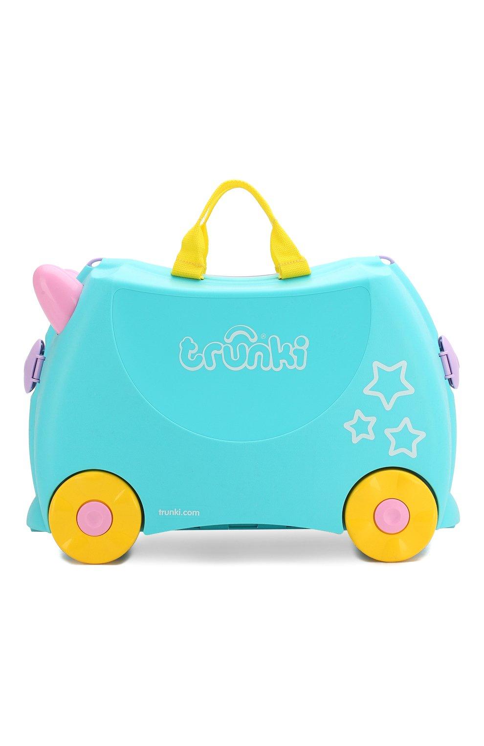 Детский чемодан TRUNKI разноцветного цвета, арт. 0287-GB01 | Фото 1