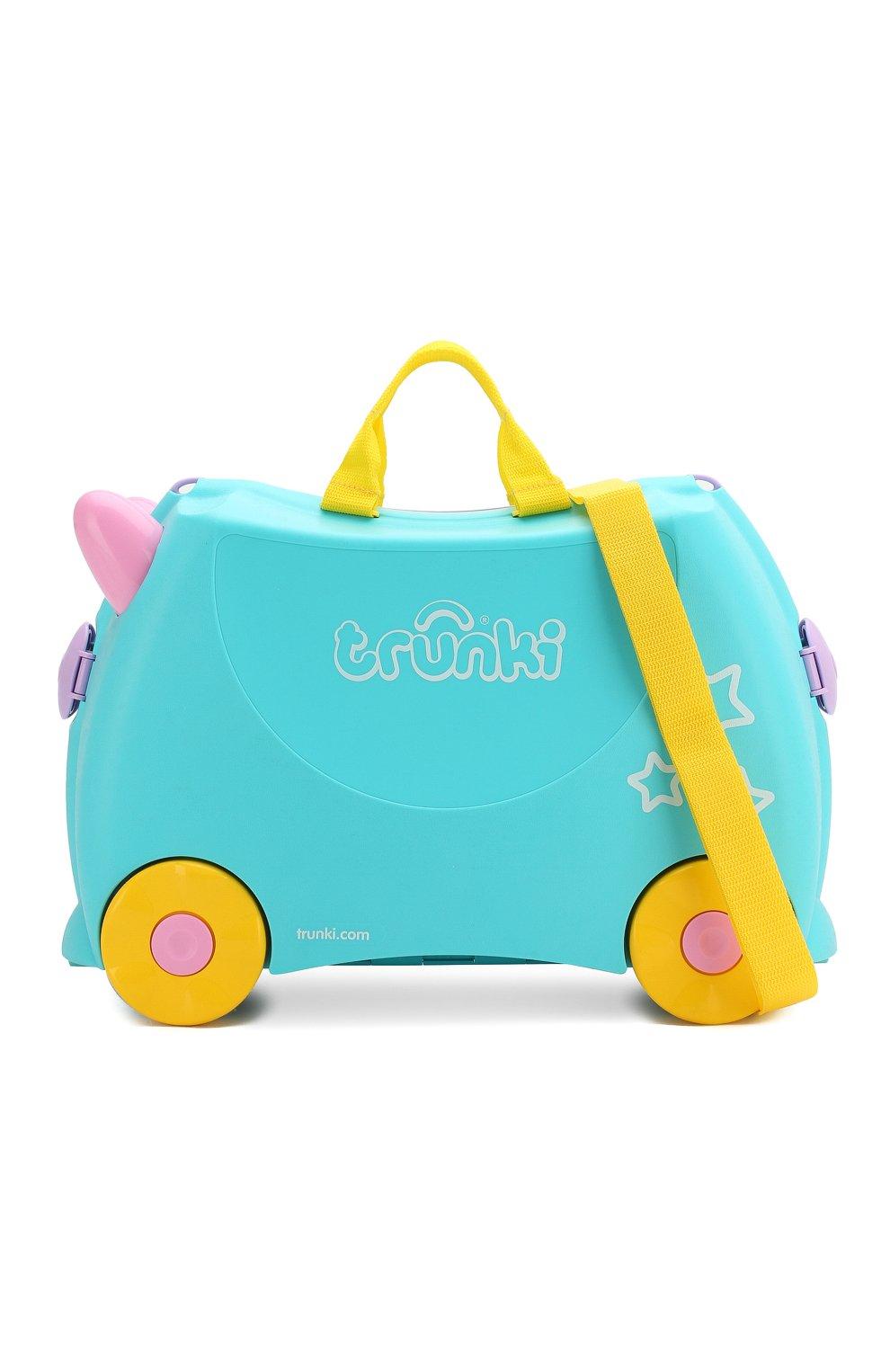 Детский чемодан TRUNKI разноцветного цвета, арт. 0287-GB01 | Фото 4