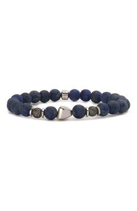 Мужской браслет TATEOSSIAN синего цвета, арт. BL9541 | Фото 1
