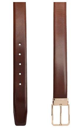 Мужской кожаный ремень SANTONI коричневого цвета, арт. CM35NS003B90HVVDM40 | Фото 2