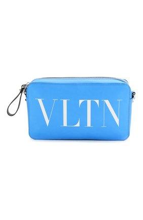 Кожаная сумка VLTN | Фото №1