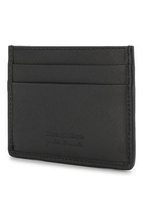 Мужской кожаный футляр для кредитных карт ERMENEGILDO ZEGNA темно-синего цвета, арт. E1139P-LHPUN | Фото 2