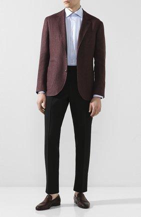 Мужские кожаные лоферы MAGNANNI коричневого цвета, арт. 22705/B0LTIARCADE | Фото 2