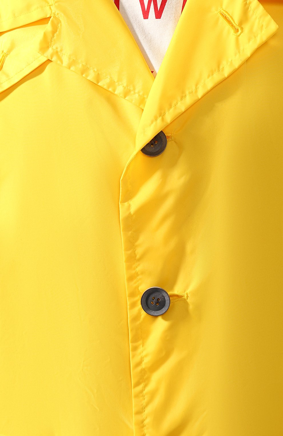 Мужской тренч YOHJI YAMAMOTO желтого цвета, арт. HN-C04-600   Фото 5