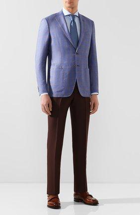 Мужская хлопковая сорочка ETON голубого цвета, арт. 1000 00871 | Фото 2