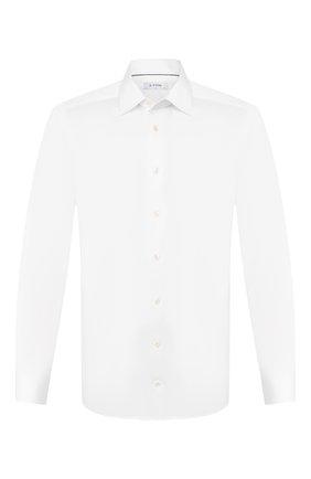 Мужская хлопковая сорочка ETON белого цвета, арт. 1000 00665 | Фото 1
