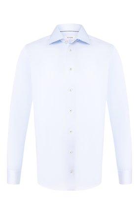 Мужская хлопковая сорочка ETON голубого цвета, арт. 1000 00665 | Фото 1