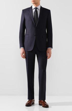 Мужская хлопковая сорочка ETON серого цвета, арт. 1000 00665 | Фото 2