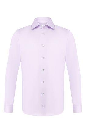 Мужская хлопковая сорочка ETON сиреневого цвета, арт. 1000 00665 | Фото 1