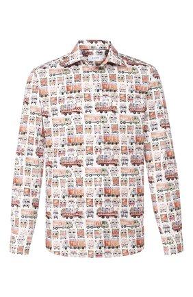 Мужская хлопковая рубашка ETON разноцветного цвета, арт. 1000 00768 | Фото 1