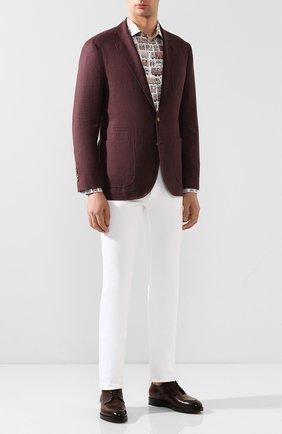 Мужская хлопковая рубашка ETON разноцветного цвета, арт. 1000 00768 | Фото 2