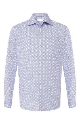 Мужская хлопковая сорочка ETON синего цвета, арт. 1000 00962 | Фото 1