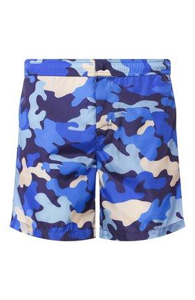 Детского плавки-шорты MONCLER синего цвета, арт. F1-091-2C706-00-539UZ | Фото 1