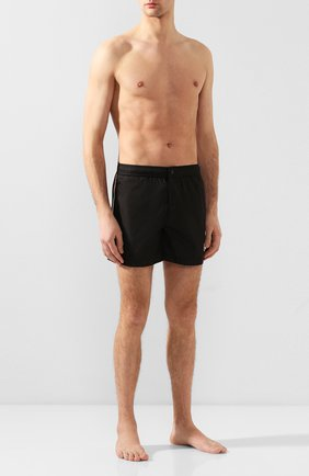 Детского плавки-шорты MONCLER черного цвета, арт. F1-091-2C707-00-53326 | Фото 2