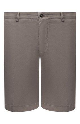 Мужские хлопковые шорты BERWICH темно-серого цвета, арт. BER_MUDA/TS0001X | Фото 1