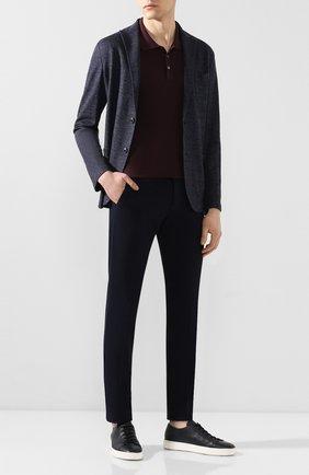 Мужской хлопковые брюки BERWICH темно-синего цвета, арт. M0RELL0/SN0007X | Фото 2