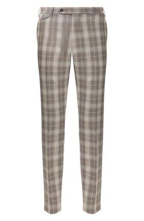 Мужской шерстяные брюки BERWICH коричневого цвета, арт. VULCAN0/AN1294 | Фото 1