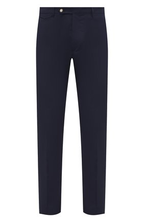 Мужской хлопковые брюки BERWICH темно-синего цвета, арт. VULCAN0/CN101X | Фото 1