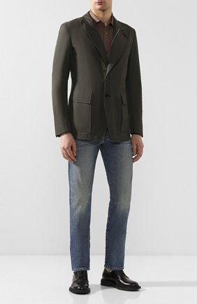 Мужская куртка TOM FORD хаки цвета, арт. BU005/TF0420 | Фото 2
