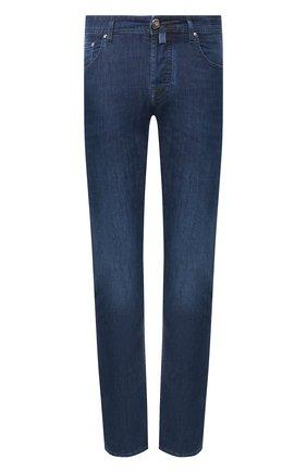 Мужские джинсы JACOB COHEN синего цвета, арт. J688 LUXURY C0MF 00517-W2/53 | Фото 1