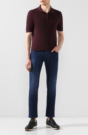 Мужские джинсы JACOB COHEN синего цвета, арт. J688 LUXURY C0MF 00517-W2/53 | Фото 2