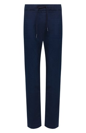 Мужской хлопковые брюки JACOB COHEN темно-синего цвета, арт. CARL C0MF R 01846-W1/53 | Фото 1