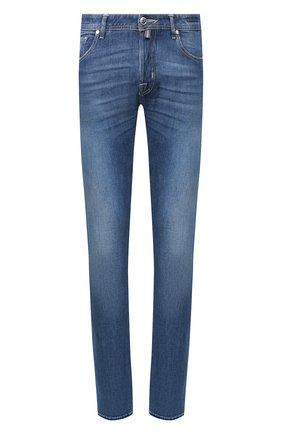 Мужские джинсы JACOB COHEN синего цвета, арт. J688 LIMITED C0MF 01065-W1/53 | Фото 1