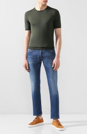 Мужские джинсы JACOB COHEN синего цвета, арт. J688 LIMITED C0MF 01065-W1/53 | Фото 2