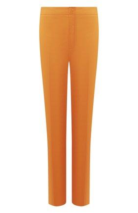 Женские хлопковые брюки LORO PIANA оранжевого цвета, арт. FAL1273 | Фото 1