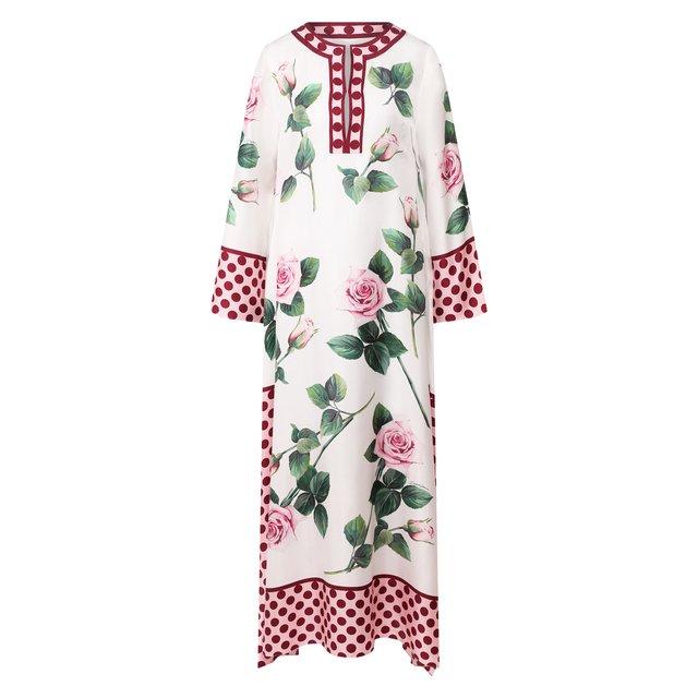Шелковая туника Dolce & Gabbana