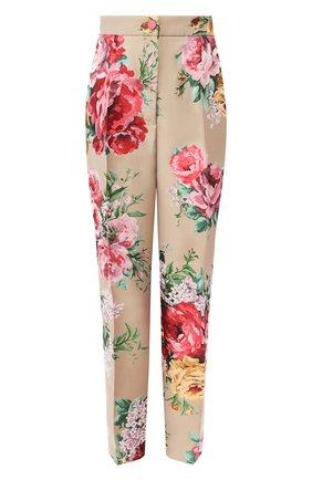Женские брюки DOLCE & GABBANA бежевого цвета, арт. FTAM2T/HJMJ3 | Фото 1