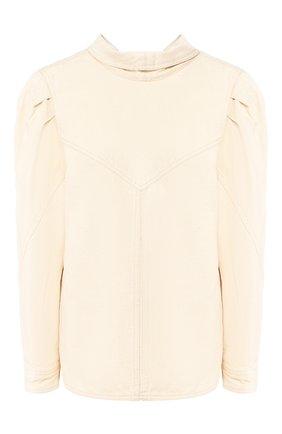 Женская джинсовая рубашка ISABEL MARANT бежевого цвета, арт. HT1746-20E010I/ESPERA | Фото 1