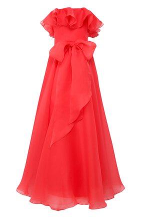 Женское платье-макси JENNY PACKHAM красного цвета, арт. JJD121L | Фото 1