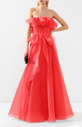 Женское платье-макси JENNY PACKHAM красного цвета, арт. JJD121L | Фото 2