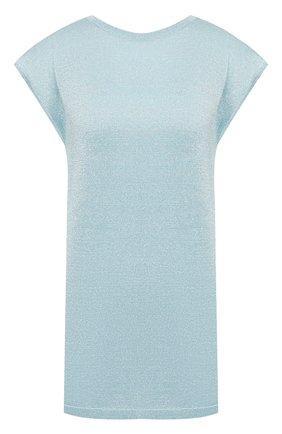 Женская футболка MISSONI голубого цвета, арт. MDN00182/BK0281 | Фото 1