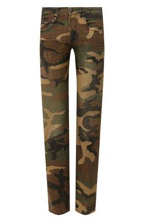 Женские джинсы R13 хаки цвета, арт. R13W0086-078B | Фото 1