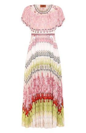 Женское платье из вискозы MISSONI разноцветного цвета, арт. MDG00540/BR007Z | Фото 1