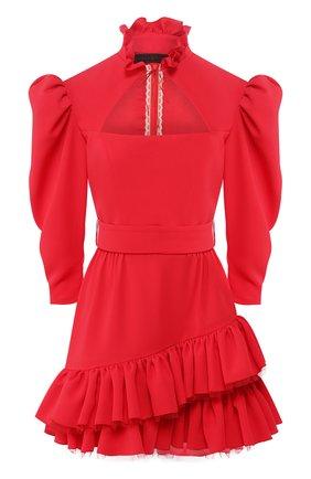 Женское платье ULYANA SERGEENKO красного цвета, арт. (1661т19) ABC003FW19P | Фото 1