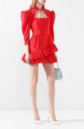Женское платье ULYANA SERGEENKO красного цвета, арт. (1661т19) ABC003FW19P | Фото 2