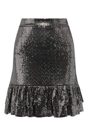 Женская юбка MICHAEL MICHAEL KORS серебряного цвета, арт. MH97F30D3B   Фото 1