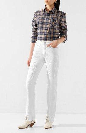 Женские джинсы ZADIG&VOLTAIRE кремвого цвета, арт. SJCA3007F | Фото 2