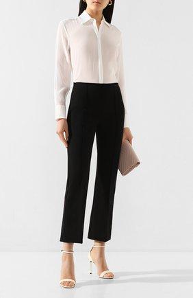 Женская рубашка VICTORIA, VICTORIA BECKHAM белого цвета, арт. 2120WSH000425A | Фото 2