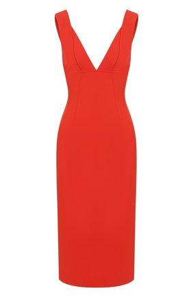 Женское платье VICTORIA BECKHAM красного цвета, арт. 1120WDR000580C | Фото 1