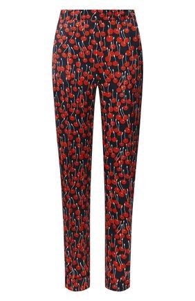 Женские брюки из вискозы VICTORIA, VICTORIA BECKHAM темно-синего цвета, арт. 2120WTR000513A | Фото 1