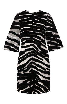 Женское платье DOLCE & GABBANA черно-белого цвета, арт. F6J1BT/FI1YE | Фото 1