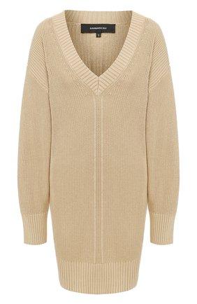 Женский пуловер BARBARA BUI бежевого цвета, арт. V4201LXA | Фото 1