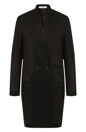 Женский жакет ISABEL BENENATO черного цвета, арт. DW76S20 | Фото 1