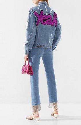 Женская джинсовая куртка FORTE DEI MARMI COUTURE синего цвета, арт. 20SF6359 | Фото 2