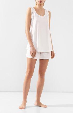 Женская хлопковая пижама GIANANTONIO PALADINI белого цвета, арт. S050P03 | Фото 1