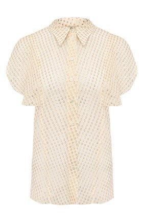 Женская шелковая блузка STELLA MCCARTNEY белого цвета, арт. 601190/S0A45 | Фото 1